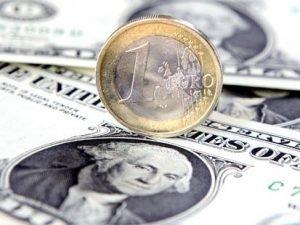 Hausse de l'euro face au dollar