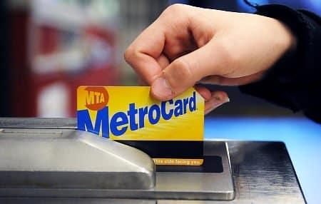 ticket de métro à New York