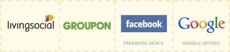 Living Social, Groupon, Facebook Deals et Google Offers