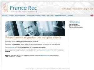 France Rec, un cabinet de recouvrement de créances