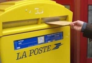 Tarifs postaux 2012