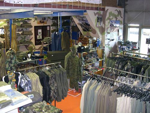 La boutique Surplus militaire