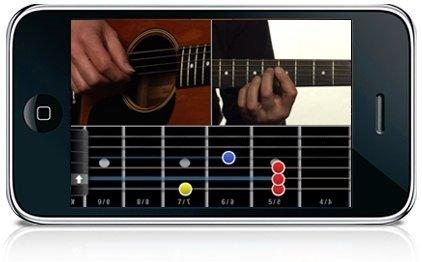 Application Coach Guitar pour iPhone