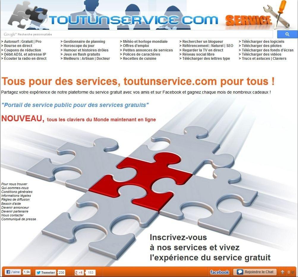 Toutunservice.com