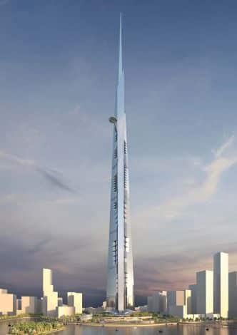 Un gratte-ciel d'un kilomètre en Arabie Saoudite