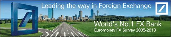 Deutsche Bank, numéro 1 sur le Forex