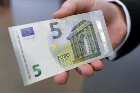 Nouveau billet 5 euros