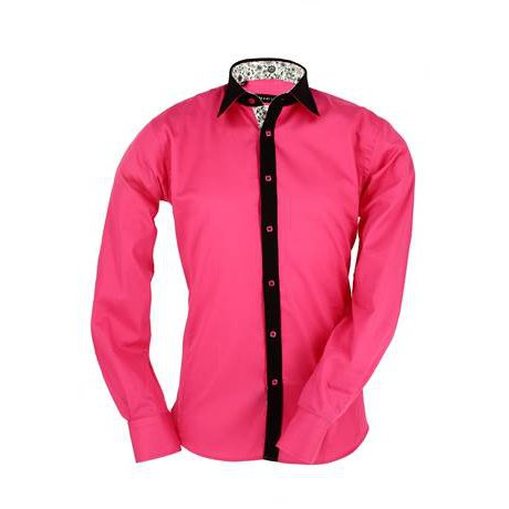 n-2-chemise-meadrine-fushia-col-italien-noir