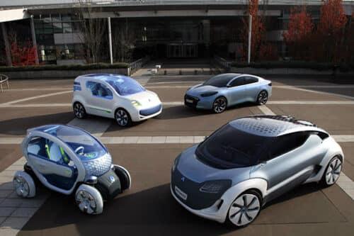 Voitures écologiques Renault
