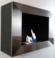 Une cheminée au bioéthanol - source photos conseils-thermiques.org