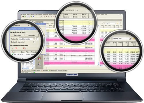 logiciel de gestion des temps ZEUS