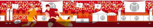 drapeau personnalisé macapflag sport