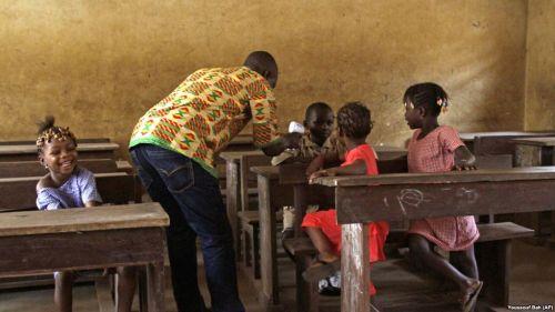 En Guinée pour l'enseignement